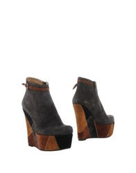 Gianni Marra Ankle Boots Grey