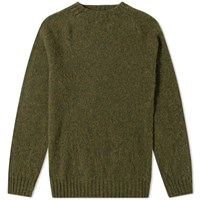 Howlin' Birth Of The Cool Crew Knit Green