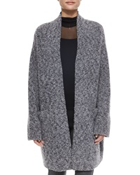 Rag And Bone Diana Wool Blend Sweater Coat