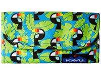 Kavu Big Spender Blue Toucan Wallet Handbags Multi