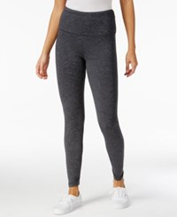 Styleandco. Style And Co. Sport Heathered Tummy Control Active Leggings Only At Macy's