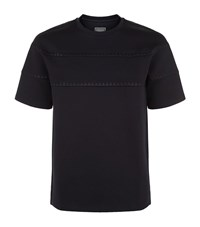 Wooyoungmi Stitched Neoprene T Shirt Male Navy