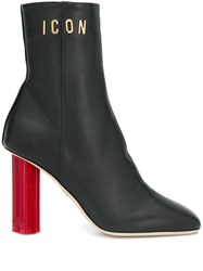 Dsquared2 Icon Ankle Boots Black