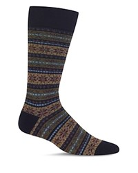 Polo Ralph Lauren Reindeer Fair Isle Dress Socks Navy
