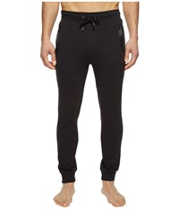 Hugo Boss Contemporary Long Pants Cuffs 1017 Black Men's Pajama