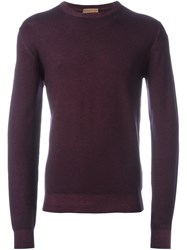 Etro Classic Jumper Pink And Purple