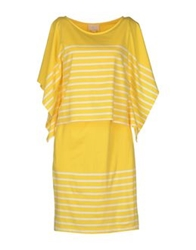 Boy By Band Of Outsiders Short Dresses Yellow