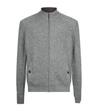 Ted Baker Akela Chunky Knit Cardigan Male Grey
