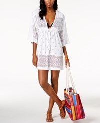 Dotti Free Spirit Kimono Cover Up Women's Swimsuit White