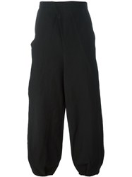 Aganovich Loose Fit Trousers Black