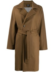 A.P.C. Trench Coat Brown