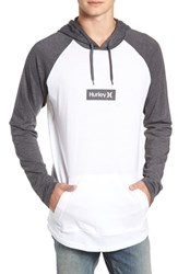 Hurley Premium One And Only Box Logo Pullover Hoodie Black