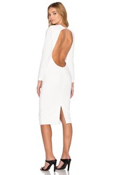 Aq Aq Zizon Midi Dress White