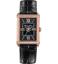 Thomas Sabo Glam And Soul Black And Rose Gold Coloured Watch