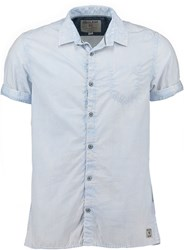 Garcia Cotton Shirt Blue Glow