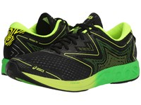 Asics Noosa Ff Black Green Gecko Safety Yellow Men's Running Shoes