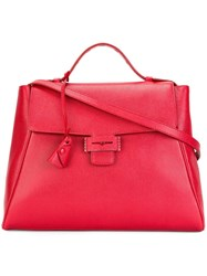 Myriam Schaefer Medium 'Baby Byron' Tote Red