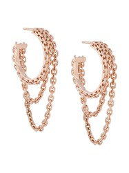 Wouters And Hendrix Reves De Reves Chain Hoop Earrings 60