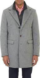 Moorer Waterproof Cashmere Down Filled Coat Gray