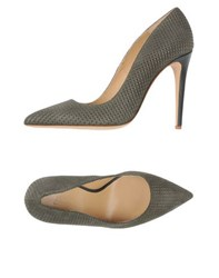 Armani Collezioni Footwear Courts Women Military Green