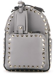 Valentino 'Rockstud' Backpack Grey
