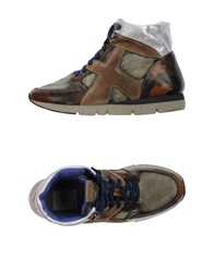 O.X.S. High Tops And Trainers Khaki