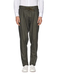 Entre Amis Men Trousers Casual Trousers Men Military Green