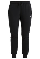 Adidas Performance Tracksuit Bottoms Black White