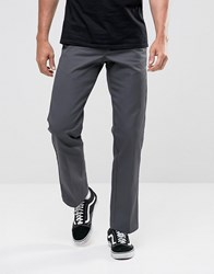 Dickies 874 Work Pant Chinos In Straight Fit Grey