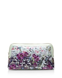Ted Baker Entangled Enchantment Cosmetic Case Navy Blue Gold
