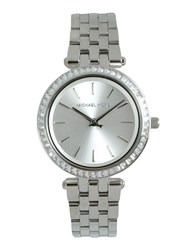 Michael Kors Timepieces Wrist Watches Women Silver