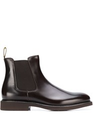 Doucal's Pull On Chelsea Boots Brown
