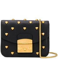 Furla Studded Metropolis Bag Black