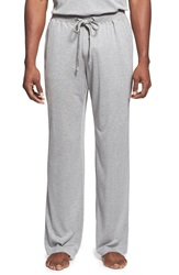 Daniel Buchler Silk And Cotton Lounge Pants Grey Heather