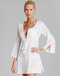 Debbie Katz Shanti Mirror Cotton Tunic Swim Cover Up