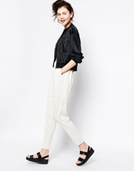 Monki Peg Trouser Offwhite