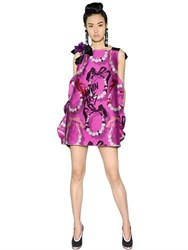 Lanvin Necklace Patterned Jacquard Dress