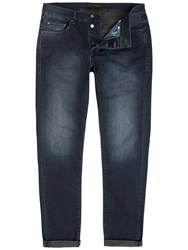 Ted Baker Shake Straight Fit Jeans Dark Wash