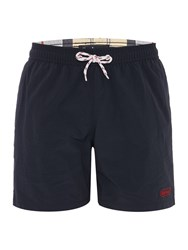 Barbour Lomond Drawstring Swimming Shorts Navy