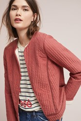Akemi Kin Quilted Jacket Pink