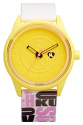 Harajuku Lovers Resin Solar Watch 40Mm Limited Edition Pink