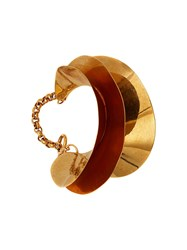 J.W.Anderson Jw Anderson Shell Bangle Gold