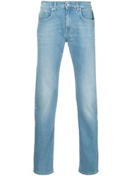 Cerruti 1881 Washed Out Jeans Blue