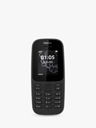 Nokia 105 Mobile Phone 1.8 4G Sim Free Black