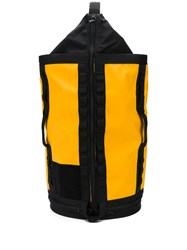 The North Face Printed Logo Backpack Yellow