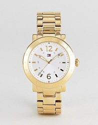 Tommy Hilfiger Aubrey Watch In Gold