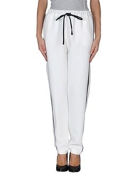 American Retro Casual Pants White