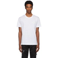 Dolce And Gabbana White Plaque T Shirt
