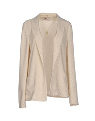Maison Scotch Suits And Jackets Blazers Women Beige