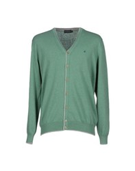 Brooksfield Knitwear Cardigans Men Light Green